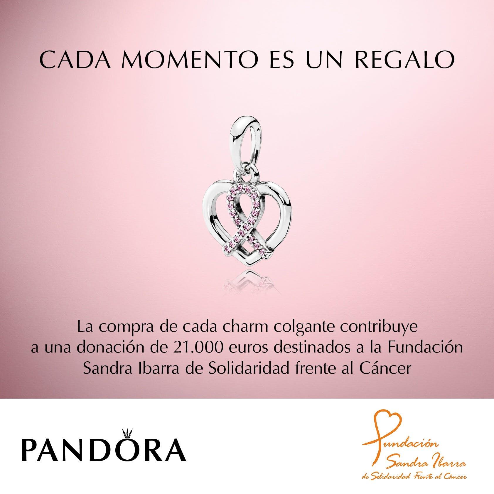 charm pandora lucha contra el cancer