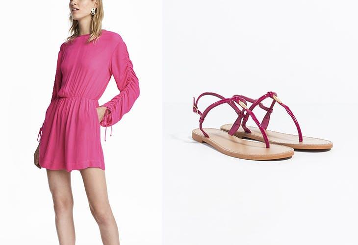 Cómo Fucsia Looks Combinar Sandalias En Tus Las NwOXZPn08k
