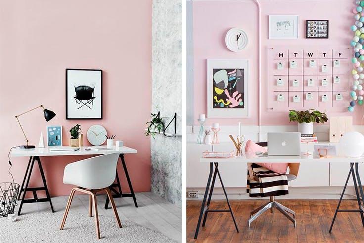 Ideas de decoraci n para espacios de trabajo en casa Decoracion de espacios de trabajo