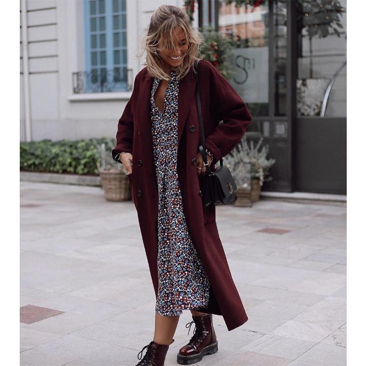 paula argüelles vestido de invierno
